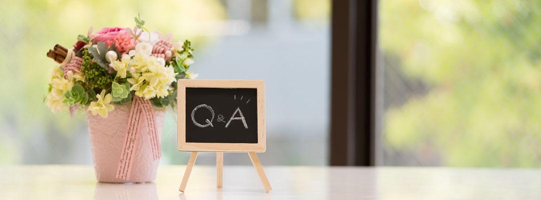 ブライダルジュエリーフジタ「よくある質問」